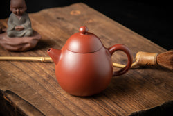 Yixing Terracotta Chinese Teapot Dragon Egg