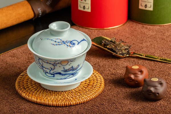 Jingdezhen Gaiwan 150ml The Sun Rise 景德鎮 蓋碗