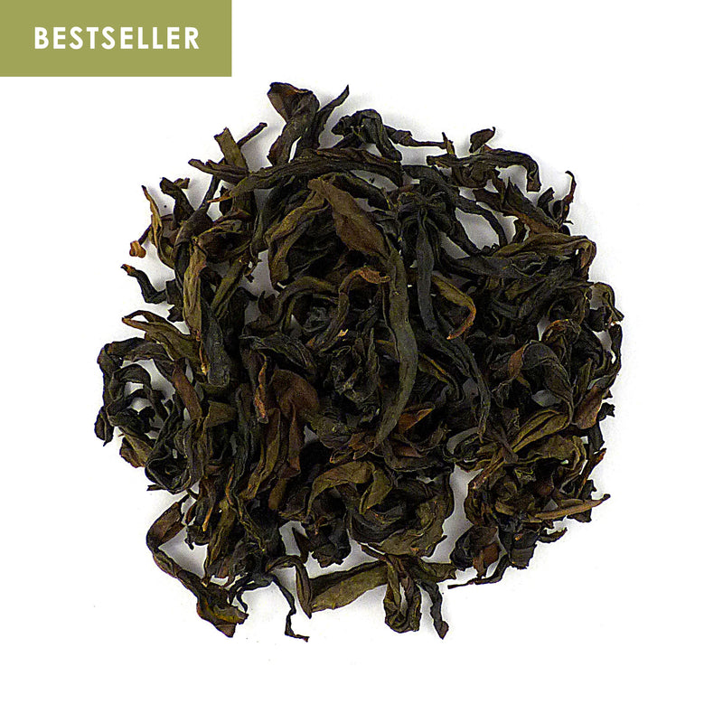 Yellow Goddess Oolong (Shi Zi Yan) - charcoal dried  武夷山 正岩黃觀音(獅子岩)