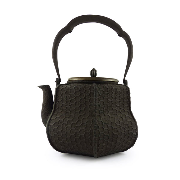 Hexagon Cast Iron Kettle 六角 鐵壺