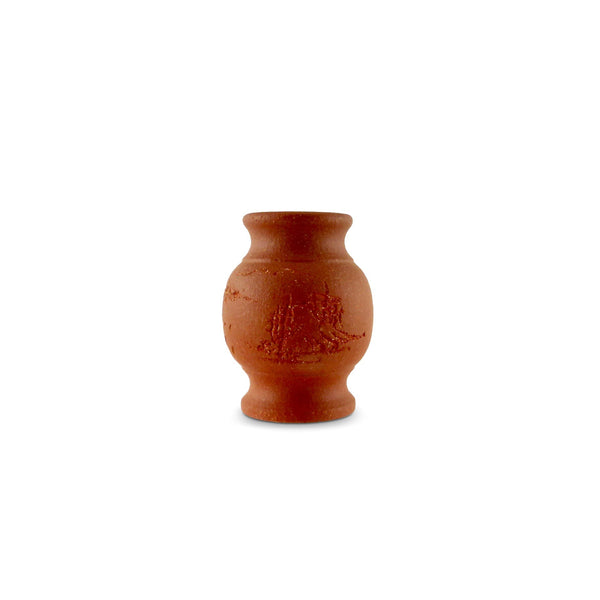 Terracotta Lid Holder Stand