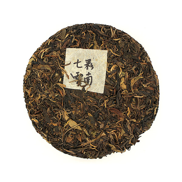 2012 Colourful Yunnan Raw Tea Cake 七彩雲南六寶⽣茶餅