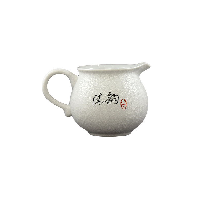 Jingdezhen Porcelain Pearl Tea Set 10 pieces