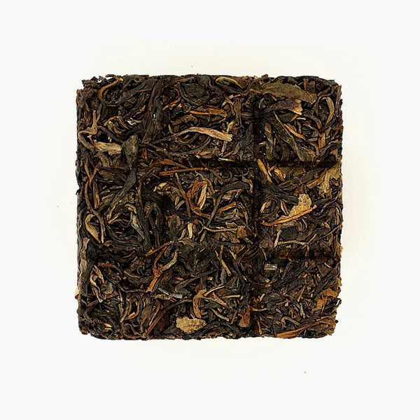 2014 Yunnan Bingdao Raw Pu-erh Tea Brick 冰島古樹生磚