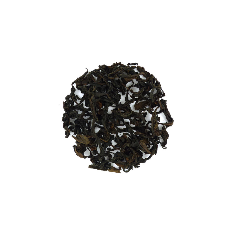 Aged Yellow Goddess Cliff Oolong  陳年黃觀音岩茶2012