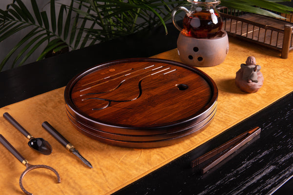 Contentment 32 Bamboo Tea Tray