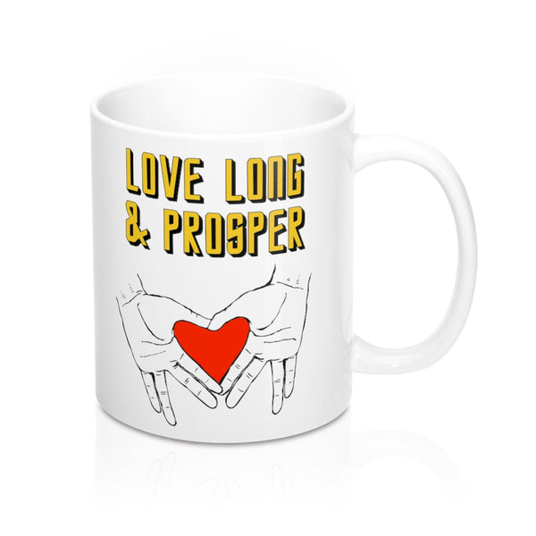 Love Long & Prosper Star Trek-Inspired Mug