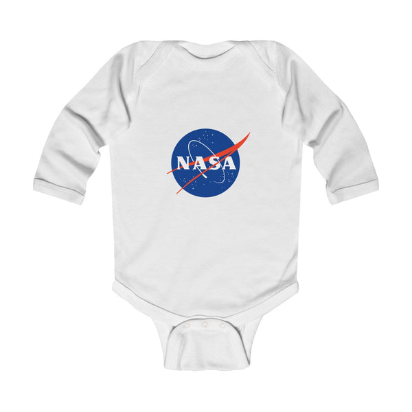 "Official NASA ""Meatball"" Logo Infant Long Sleeve Bodysuit"