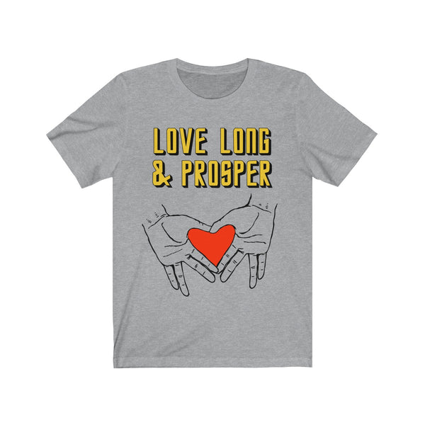 Love Long & Prosper Star Trek-Inspired T-shirt
