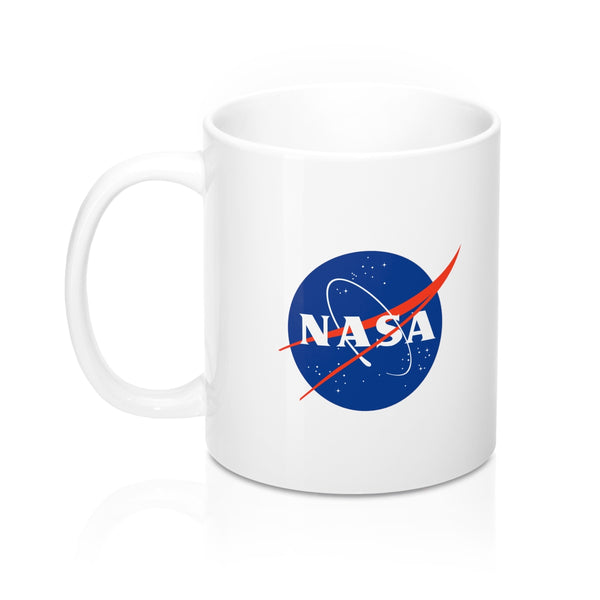 "Official NASA ""Meatball"" Logo Coffee Mug"
