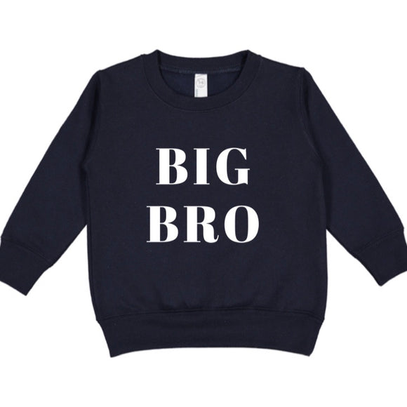 Big Bro Toddler Sweatshirt