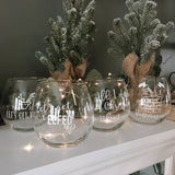 Christmas Glass Collection Set