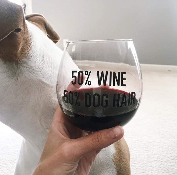 Dog Hair Glass