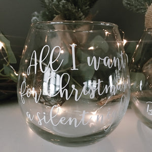 Silent Night Glass