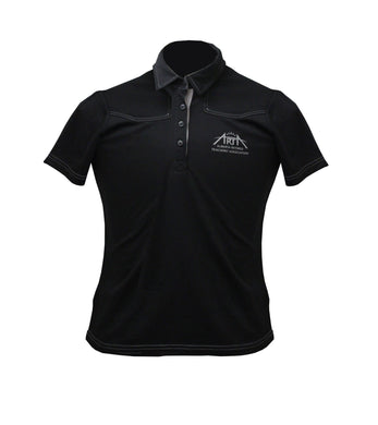 ARTA Branded Black Golf Shirt - Women's