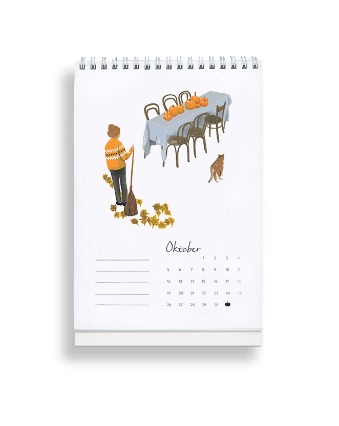 "The little ""Vorfreuden"" Calendar 2020 - Lykkefund Paper"