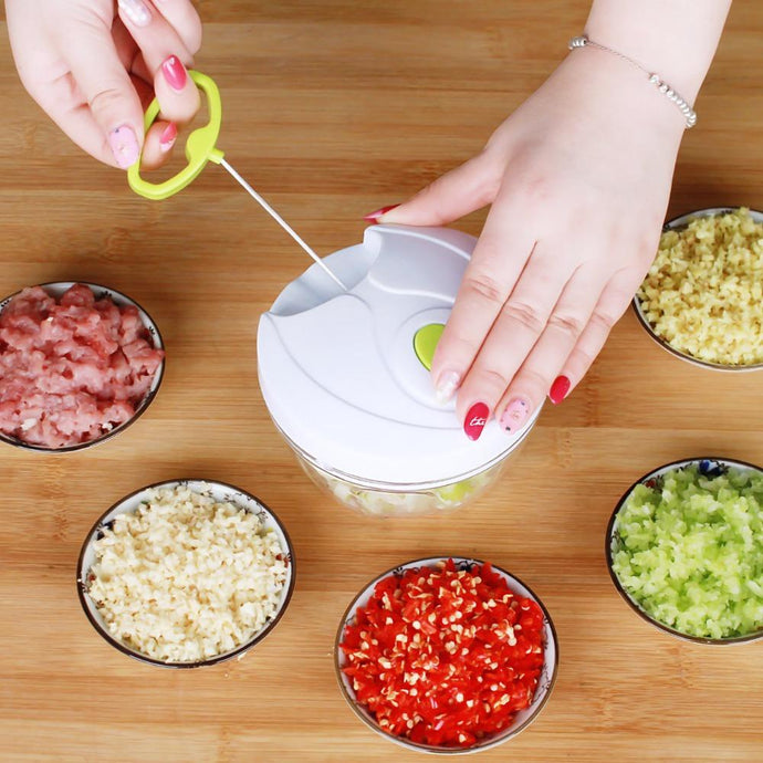 Cooking - Modernized Life™ Veggies & Fruit Chopper With Quick Slice Technology