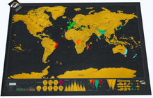 Premium & Large Scratch-Off™ Travel Map