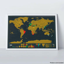 Travel - Modernized Life™ Premium Scratch-Off Personalized Travel Map