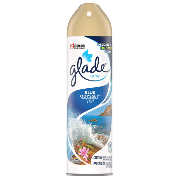 Glade Air Freshener, Room Spray, Blue Odyssey, 8 Oz