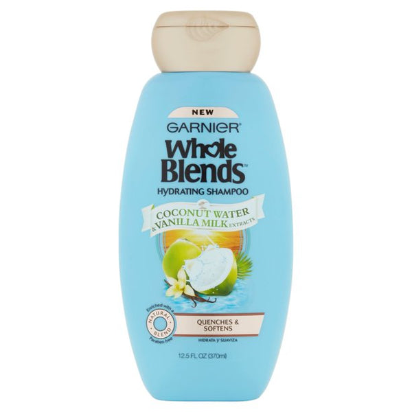 Garnier Whole Blends Shampoo with Coconut Water & Vanilla Milk Extracts 12.5 FL OZ