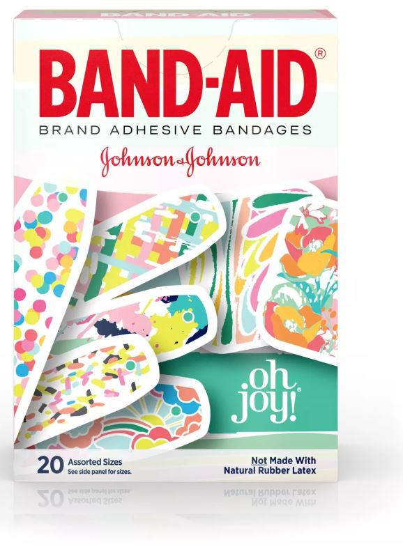 BAND-AID Oh Joy! Adhesive Bandages - 20ct - H&B Aisle