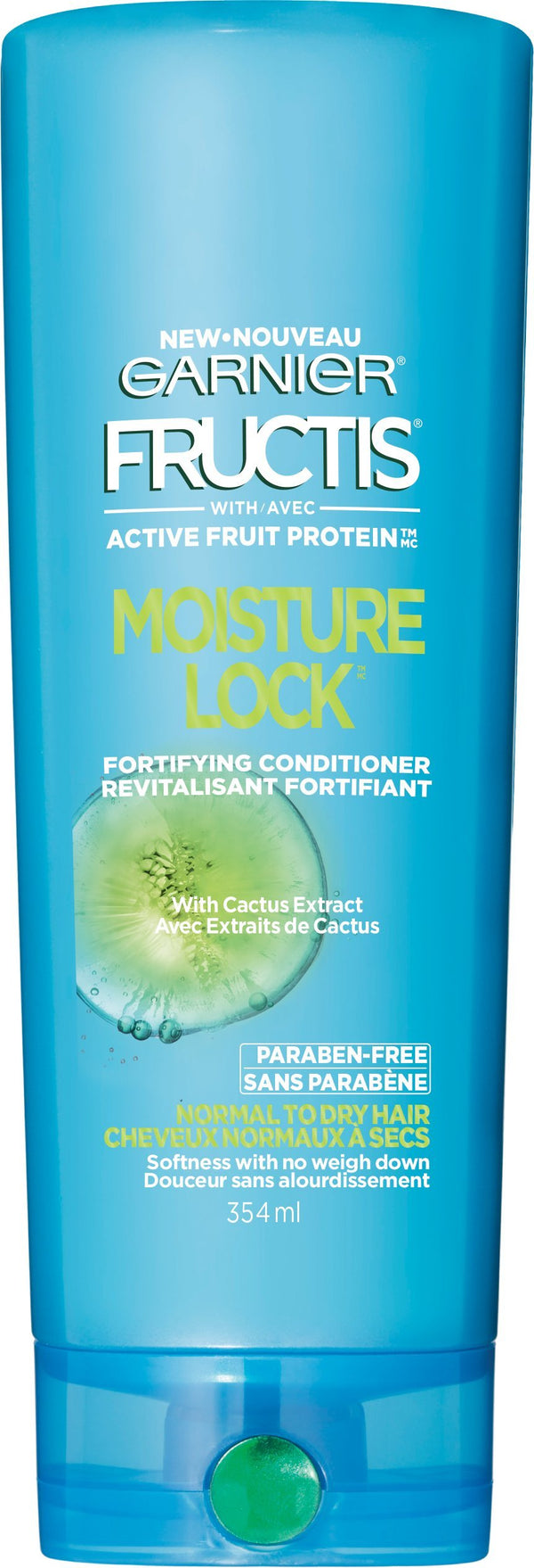 Garnier Hair Care Fructis Moisture Lock Conditioner, 12 Fluid Ounce