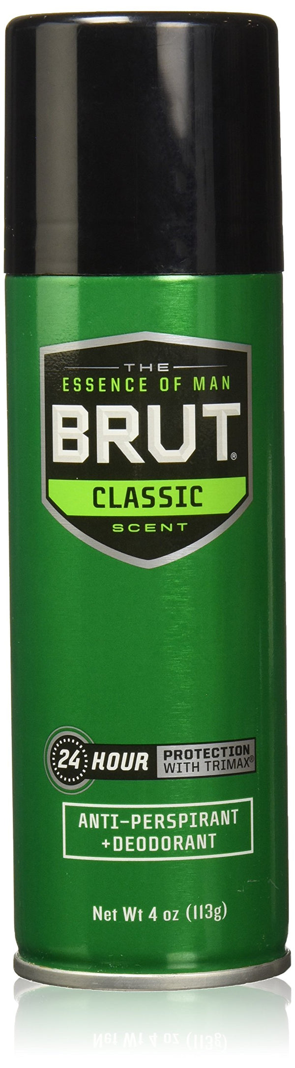 Brut Men Deodorant Aerosol Classic Scent Spray(Anti-Perspirant), 4 Ounce