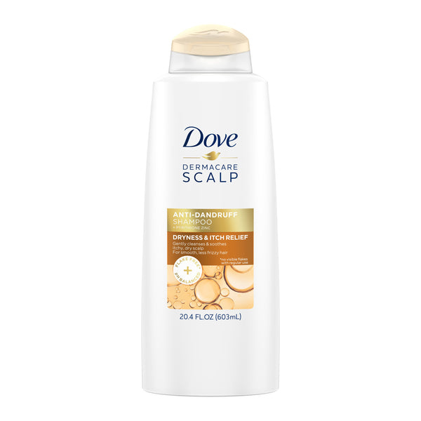 DOVE DERMACARE 20.4 OZ SHAMPOO FOR DRY SCALP AND ITCH RELIEF, ANTI-DANDRUFF - H&B Aisle