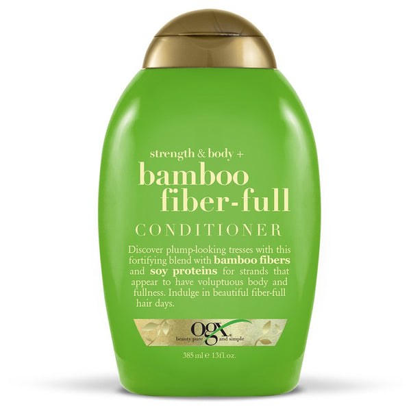 OGX Strength & Body + Bamboo Fiber-Full Conditioner, 13 Ounce - H&B Aisle