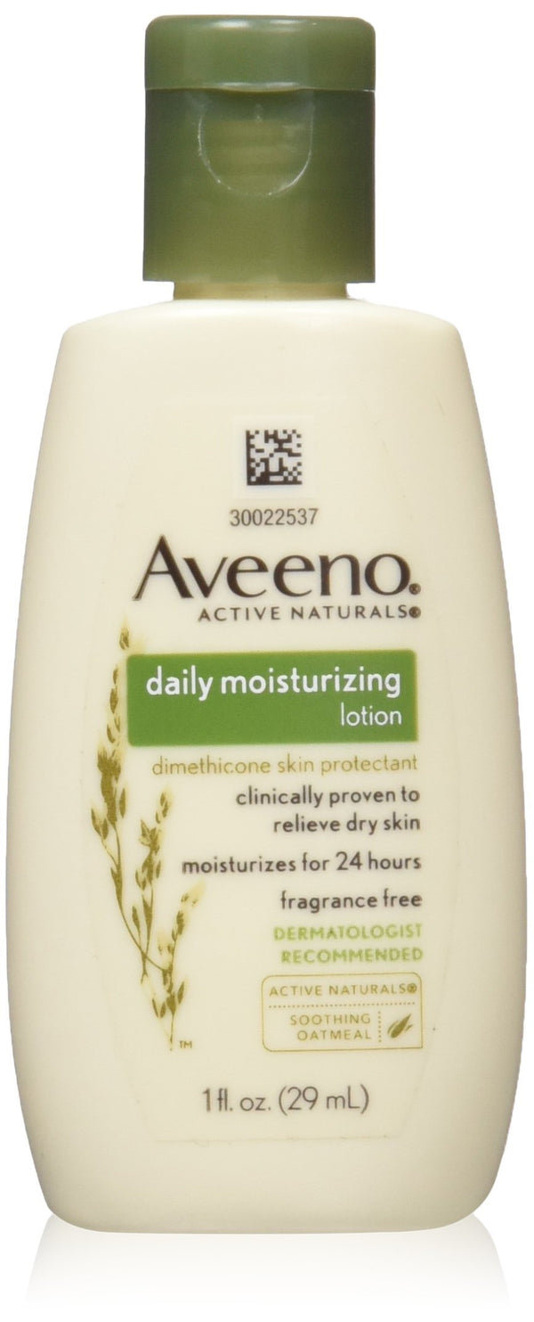 Aveeno Daily Moisturizing Lotion with Oat for Dry Skin, 1 fl. oz