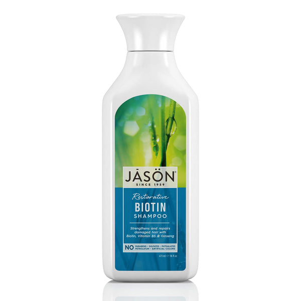 JASON Restorative Biotin Shampoo, 16 Ounce Bottle - H&B Aisle