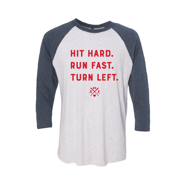 Hit Hard - Raglan | Wholesale - TheSotaShop