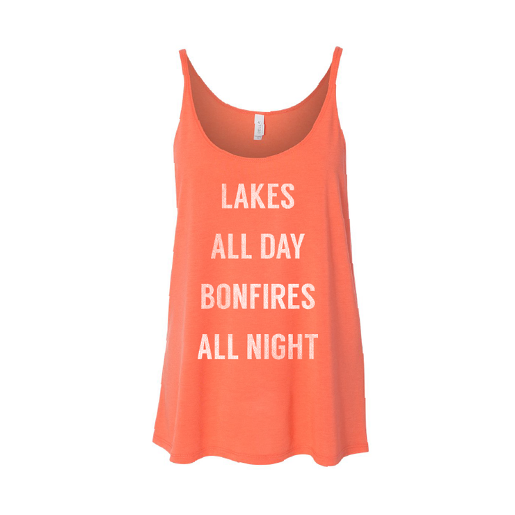 Lakes All Day - Women's Tank - TheSotaShop