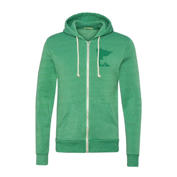 Lucky MN - Zip Hoodie | Wholesale - TheSotaShop