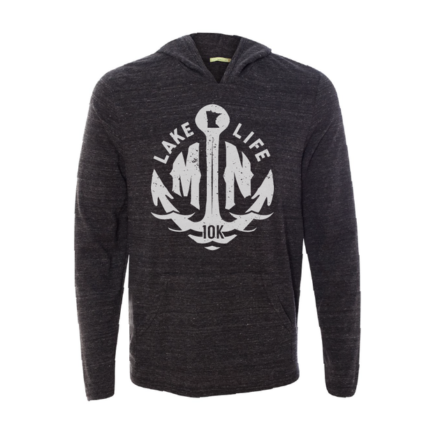 MN Lake Life - Long Sleeve Hooded Tee - TheSotaShop