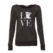 MN Love - Women's Crewneck | Wholesale - TheSotaShop