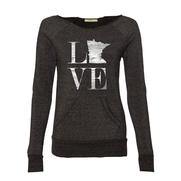 MN Love - Women's Crewneck - TheSotaShop