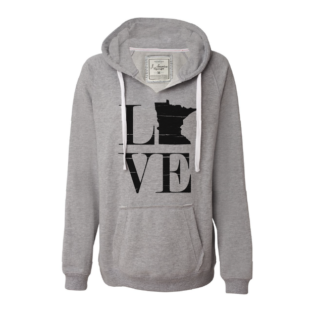 MN Love - Women's Hoodie - TheSotaShop