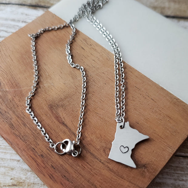 Mini MN Necklace - TheSotaShop