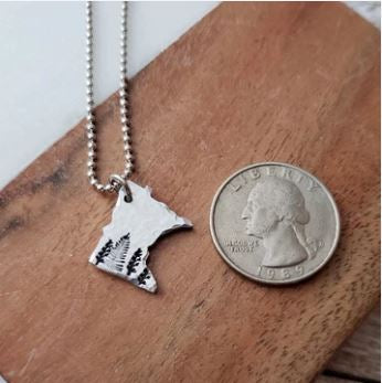 Home State Tree - Necklace - TheSotaShop