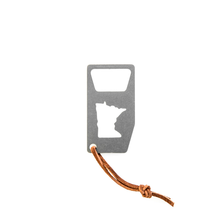 MN Homeland - Key Chain + Bottle Opener - TheSotaShop