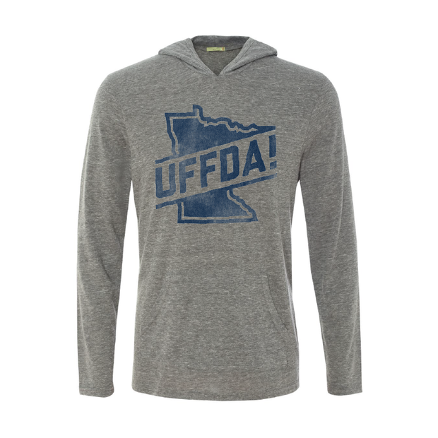 Uffda - Long Sleeve Hooded Tee - TheSotaShop