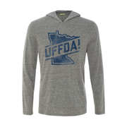 Uffda - Long Sleeve Hooded Tee | Wholesale - TheSotaShop