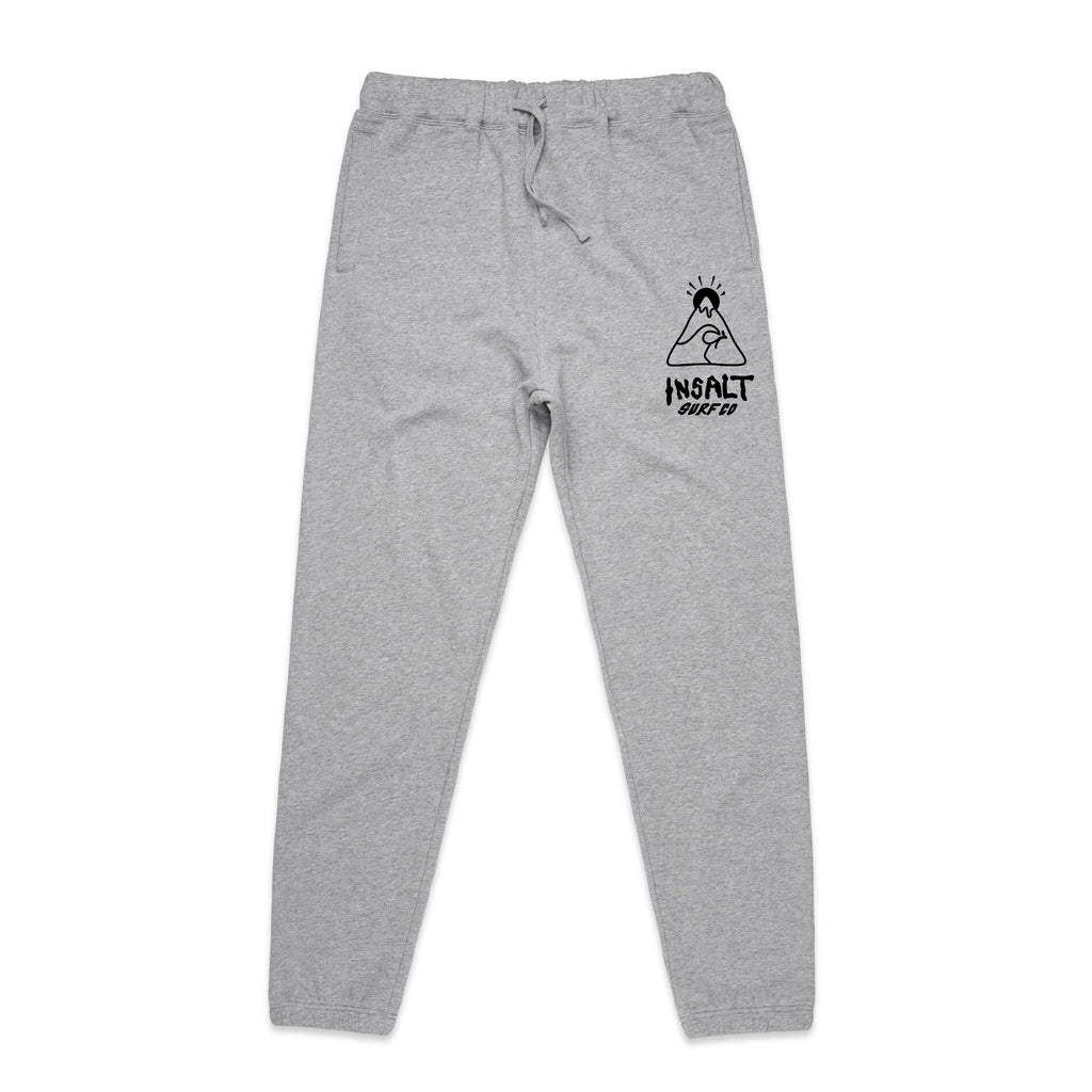 TRACK PANTS - INSALT LOGO - GREY