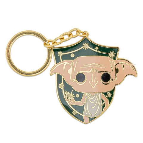 FUNKO POP BY LOUNGEFLY HARRY POTTER DOBBY ENAMEL KEYCHAIN