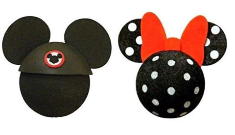 Mickey Mouse Club and Minnie Mouse Polka dot Antenna Toppers