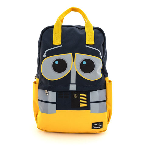 LOUNGEFLY X DISNEY WALL-E NYLON SQUARE NYLON BACKPACK - Spell Boutique