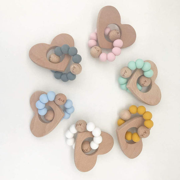 Heart Teether