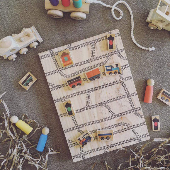 Imaginary Play Set | Railway